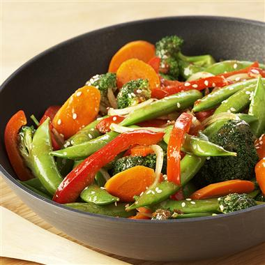 High cooked-vegetable intake